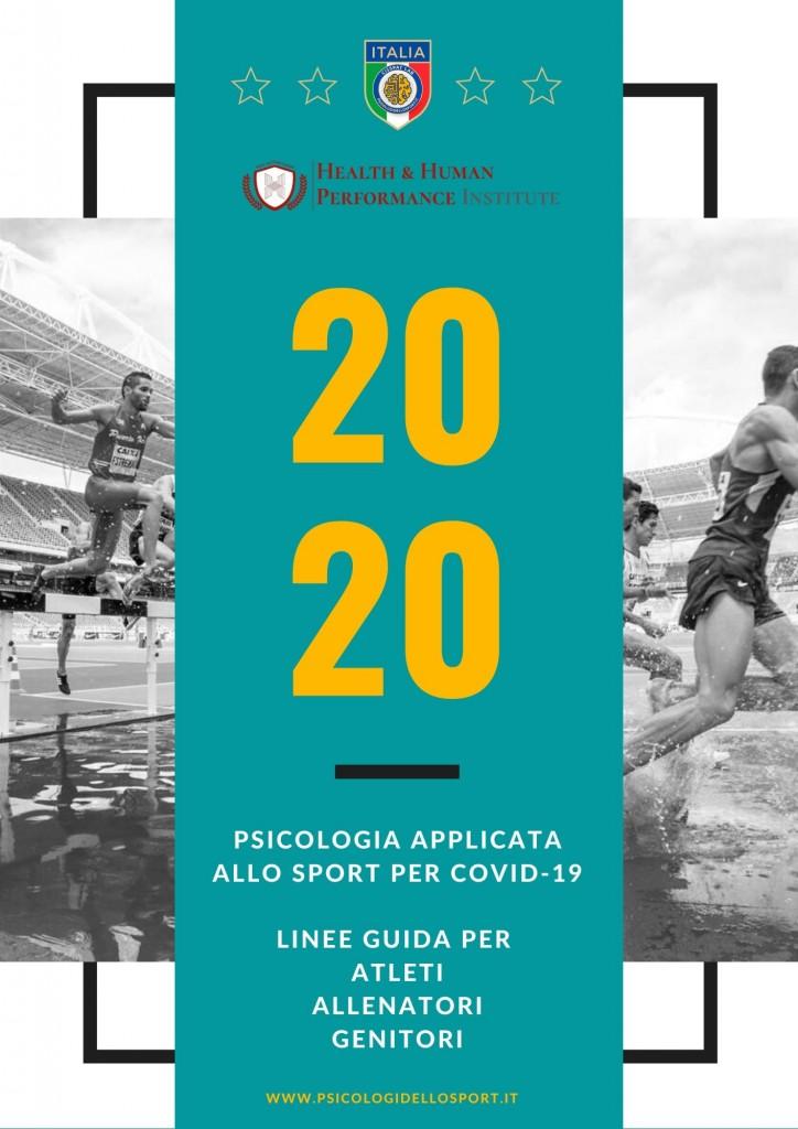 1PDF STAMPA Psicologia Applicata allo Sport linee guida covid 19