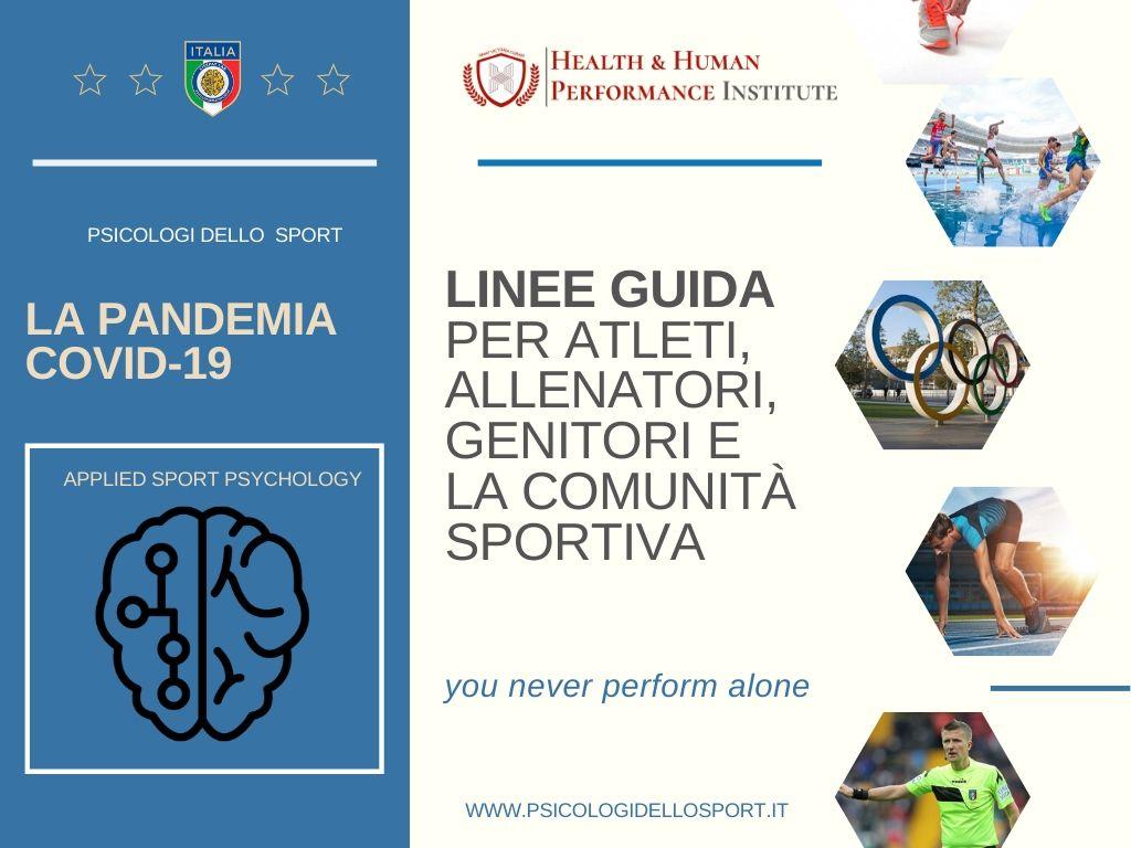La pandemia COVID-19_ consigli per atleti, allenatori, genitori e la comunità sportiva  appierto andrea alessandro bargnani