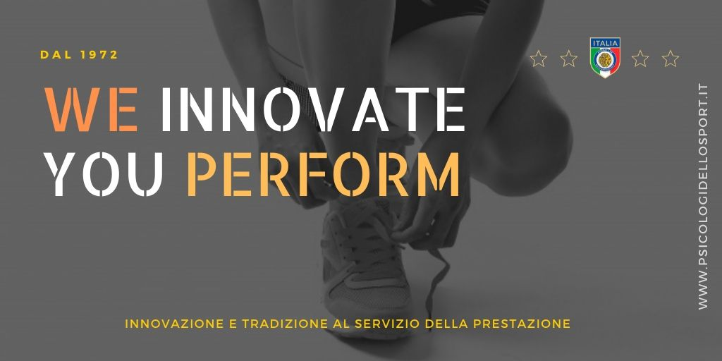 WE INNOVATE YOU PERFORM