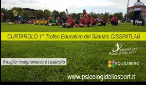 CURTAROLO 1° Trofeo Educativo del Silenzio CISSPATLAB
