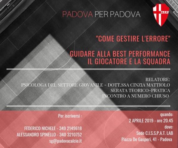 PadovaPerPadova-GestireErrore