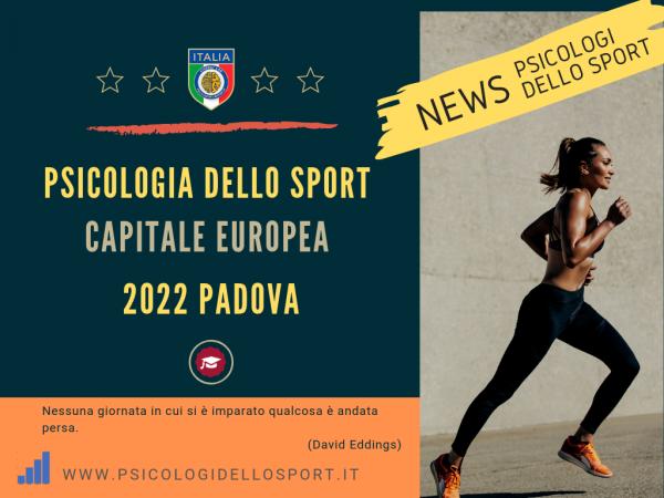capitale eruropea 2022 bargnani cisspat pds psicologi dello sport