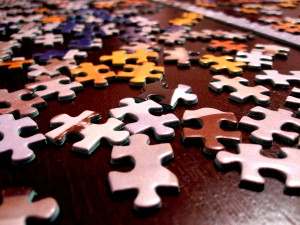 Canva - Selective Focus Photography of Assorted-color Puzzle Pieces