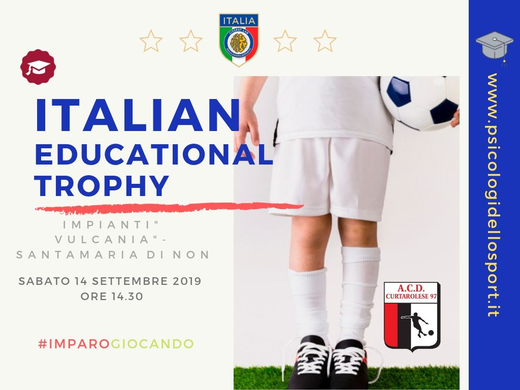 italian educational trophy