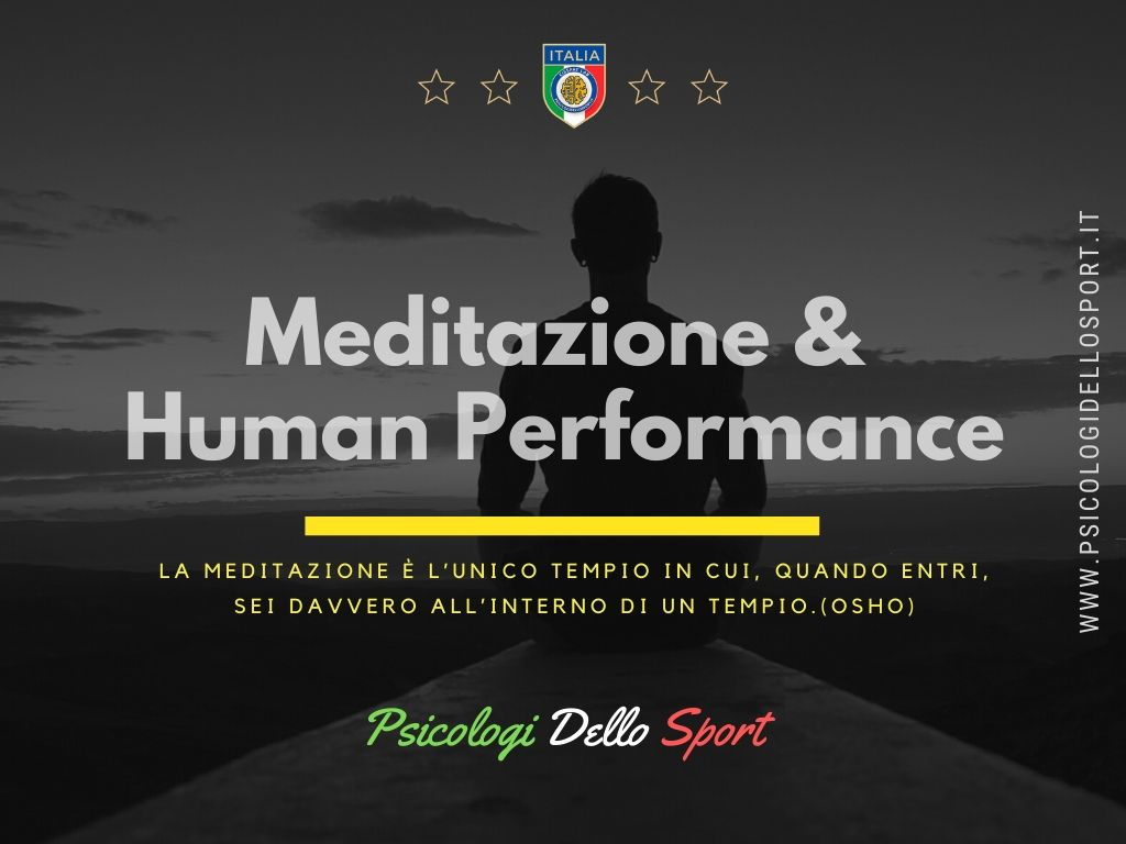 Meditazione & Human Performance