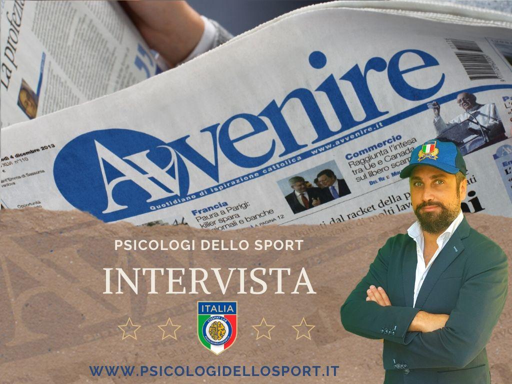 intervista direttore  bargnani PSICOLOGI DELLO SPORT covid 19