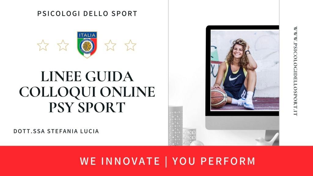 1linee guida colloqui on line psy sport psicologi dello sport webinar