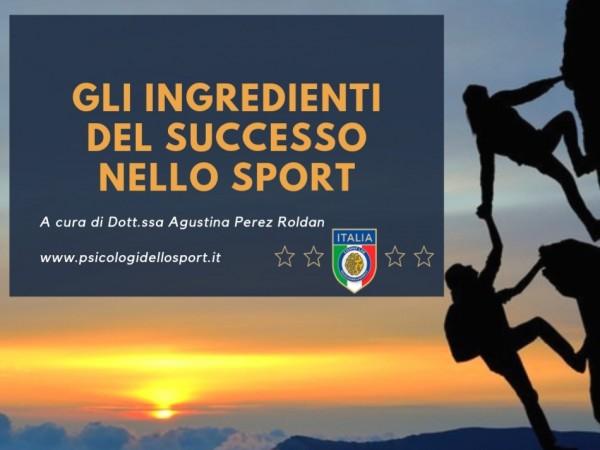 il segreto del successo psicologi dello sport esercizio roldan agustina
