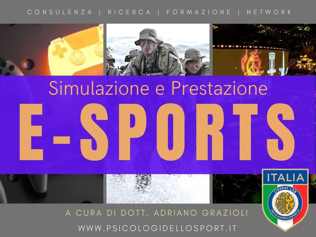 Esports Simulazione e Prestazione adriano grazioli psicologi dello sport e dell esercizio psy