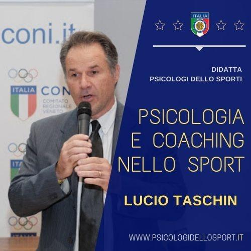 Lucio Taschin psiccologi dello sport coach psy