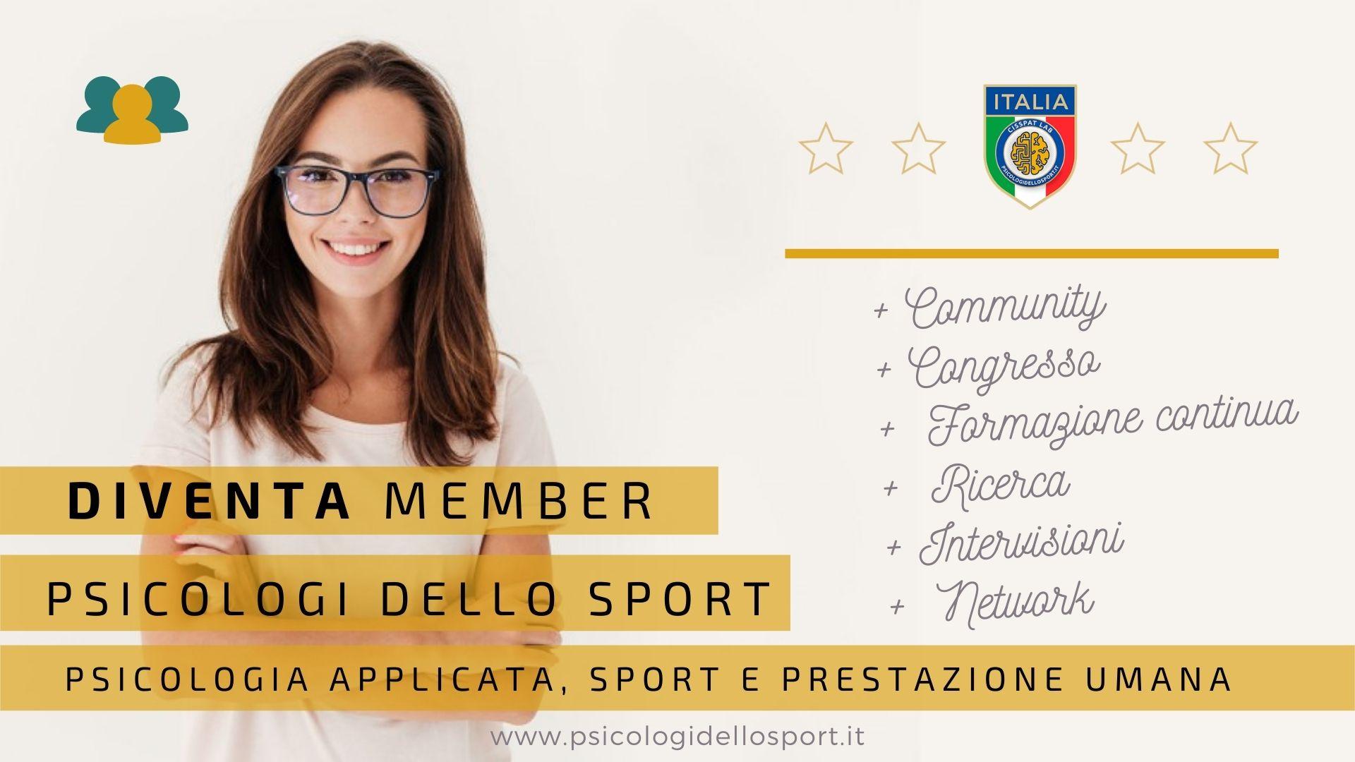 psicologia applicata sport prestazione umana preparazione mentale prepatatoreCopia di Became a member executive ambassadar