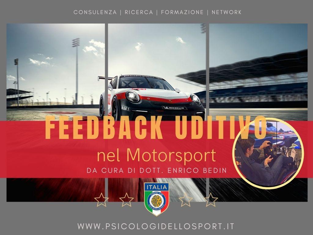 feedback uditivo psicologia applicata psicoogi dello sport motorsport