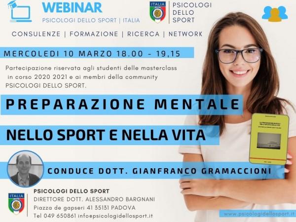 Preparazione Mentale Gianfranco Gramaccioni psicologi dello sport psicologia applicata
