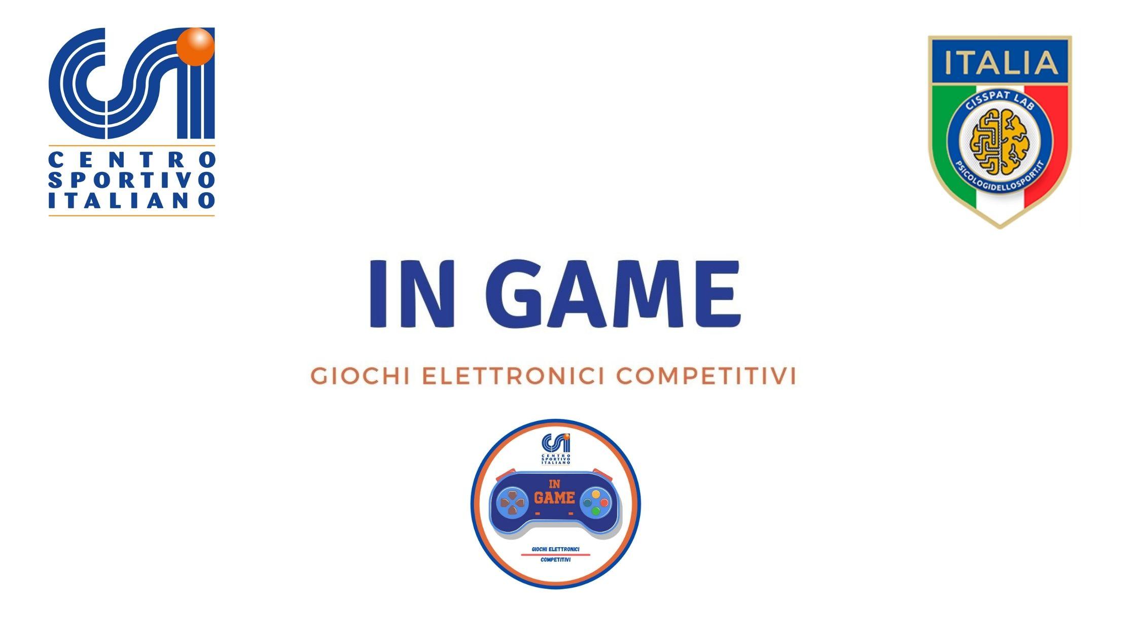 IN GAME - Questionario informativo 2021
