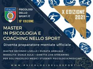 MASTER PSICOLOGIA DELLO SPORTE DELL'ESERCIZIO  psico sport COACH COACHIN PADOVA corsi performance