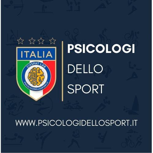 logo quadrato psicologi dello sport e dell esercizio olimpiadi