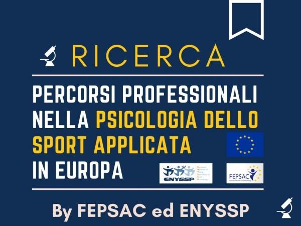 Ricerca in Psicologia dello Sportfepsac enyssp psicologi dello sport