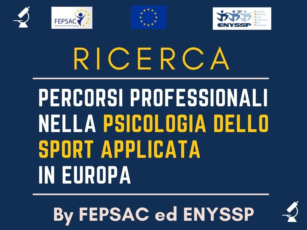 Ricerca in Psicologia dello Sport fepsac enyssp
