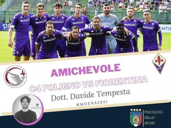 Polisportiva C4, Fiorentina, Psicologi dello sport, Davide Tempesta