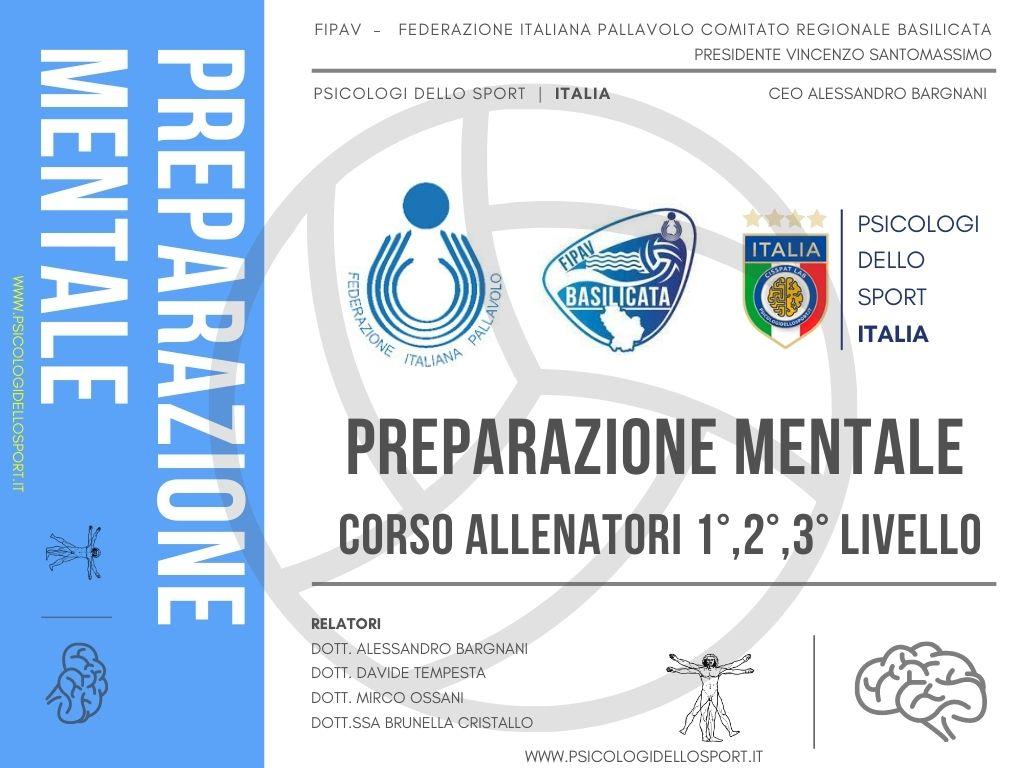 FIPAV Basilicata & Preparazione Mentale psicologi dello sport bargnani tempesta ossani cristallo