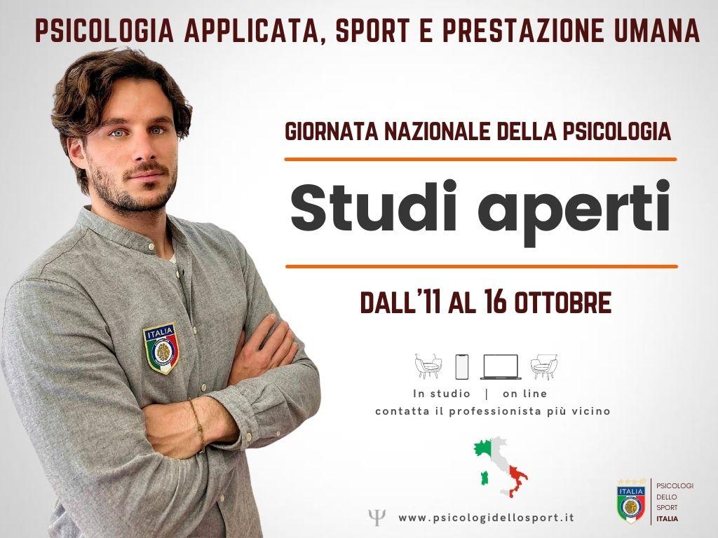 psicologi dello sport Italia studi aperti giornata della psicologia bargnani appierto tempesta ghilardi vesco